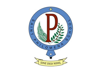 St Philomena School Logo and Images