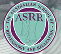The Australian School of Reflexology and Relaxation Logo and Images