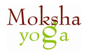 Moksha Yoga Logo and Images