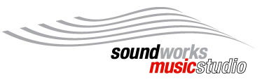 Sound Works Music Studio Logo and Images