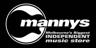 Mannys Music School Logo and Images