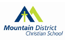 Mountain District Christian School Logo and Images