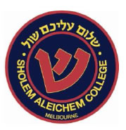 Sholem Aleichem College Logo and Images