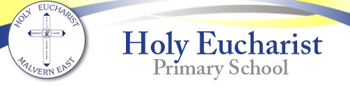 Holy Eucharist School Malvern East Logo and Images