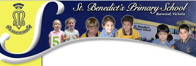St Benedicts Primary School Burwood Logo and Images