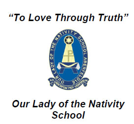 Our Lady of The Nativity School Aberfeldie Logo and Images