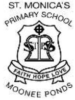St Monicas Primary School Logo and Images
