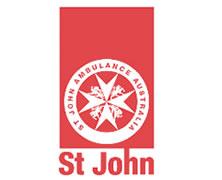 St John Ambulance Western Australia - First Aid Training Logo and Images