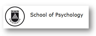 Deakin University The School of Psychology Logo and Images