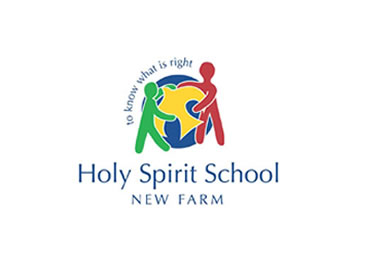 Holy Spirit School New Farm Logo and Images