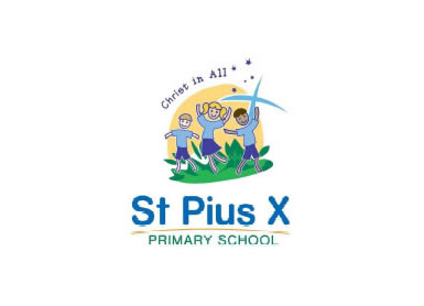 St Pius X School Salisbury Logo and Images