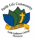 Faith Lutheran College Logo and Images