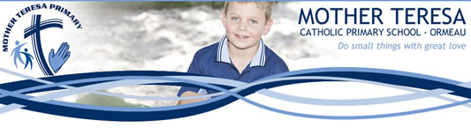 Mother Teresa Catholic Primary School Logo and Images