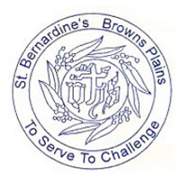 St Bernardine's Catholic School Logo and Images