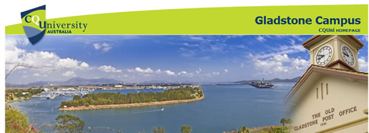 CQUniversity Gladstone Logo and Images