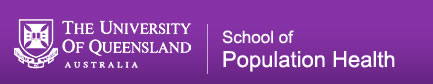 School of Population Health Logo and Images