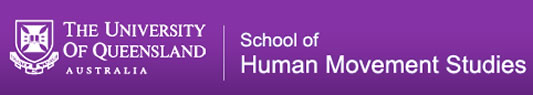 The School of Human Movement Studies Logo and Images