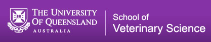 UQ School of Veterinary Science Logo and Images
