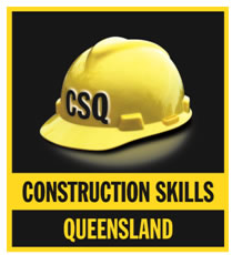 Construction Skills Queensland Logo and Images