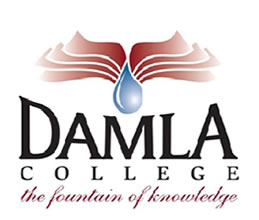 Damla College Logo and Images