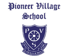 Pioneer Village School Logo and Images