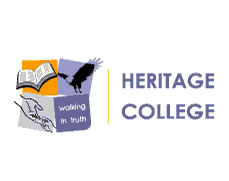 Heritage College Logo and Images