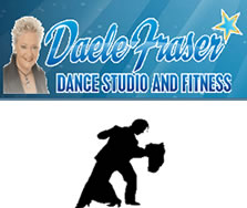Daele Fraser Dance Studio and Promotions Logo and Images