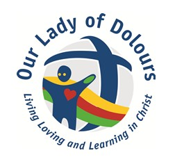 Our Lady of Dolours School Logo and Images