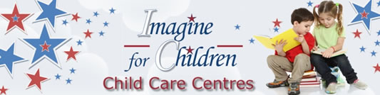 Imagine for Children Logo and Images