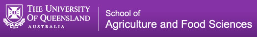 School of Agriculture and Food Sciences Logo and Images