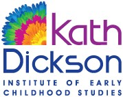 Kath Dickson Institute of Early Childhood Studies Logo and Images