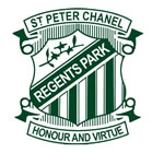 St Peter Chanel School Regents Park Logo and Images