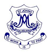 St John's Catholic Primary School Auburn Logo and Images