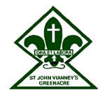 St John Vianney Primary School Greenacre Logo and Images