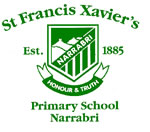 St Francis Xavier's Primary School Narrabri Logo and Images