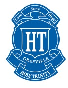 Holy Trinity Primary Granville Logo and Images