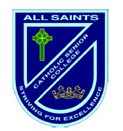All Saints Catholic Senior College Logo and Images
