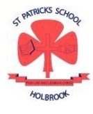 St Patrick's Primary School Holbrook Logo and Images