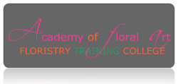 Academy of Floral Art Floristry Training College Logo and Images
