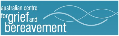 Australian Centre for Grief and Bereavement Logo and Images