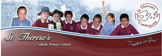 St Thereses Primary School Cranbourne Logo and Images