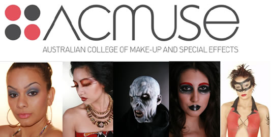 Australian College of Make-up and Special Effects Logo and Images