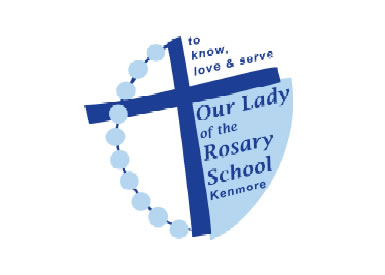 Our Lady of The Rosary School Kenmore Logo and Images
