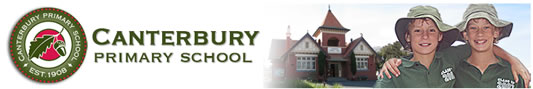 Canterbury Primary School Logo and Images