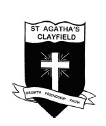 St Agatha's Primary School Logo and Images