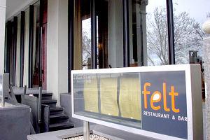 Felt Restaurant Logo and Images