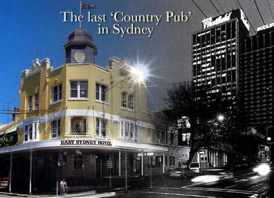 East Sydney Hotel Image