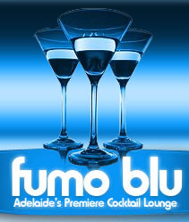 Fumo Blue Cocktail Lounge Logo and Images