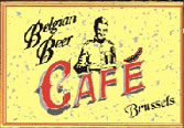 Belgian Beer Cafe Brussels Image