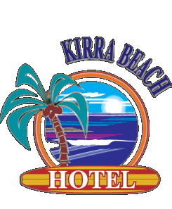 Kirra Beach Hotel Logo and Images
